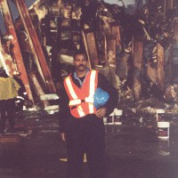 First Responder Anthony Whitaker On Location Down at Ground Zero, September 2001