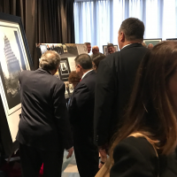 Steel Standing on display at the FDNY Foundation Dinner Auction 05/11/2017.
