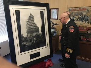 Special Presentation at FDNY Headquarters
