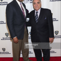 Standing Memorial Foundation Founder Anthony Whitaker and Standing Memorial Foundation Managing Director Mr.Stephen Gold at the 2018 NYPD Foundation Dinner.