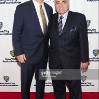 NYPD Police Commissioner Mr. James P. O'neill and Standing Memorial Foundation Managing Director Mr.Stephen Gold at the 2018 NYPD Foundation Dinner.